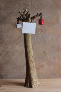 maquette sculpture arboretum des signaraux