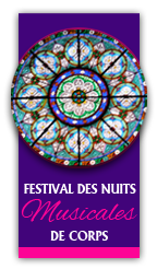 logo nuits musicales à Corps