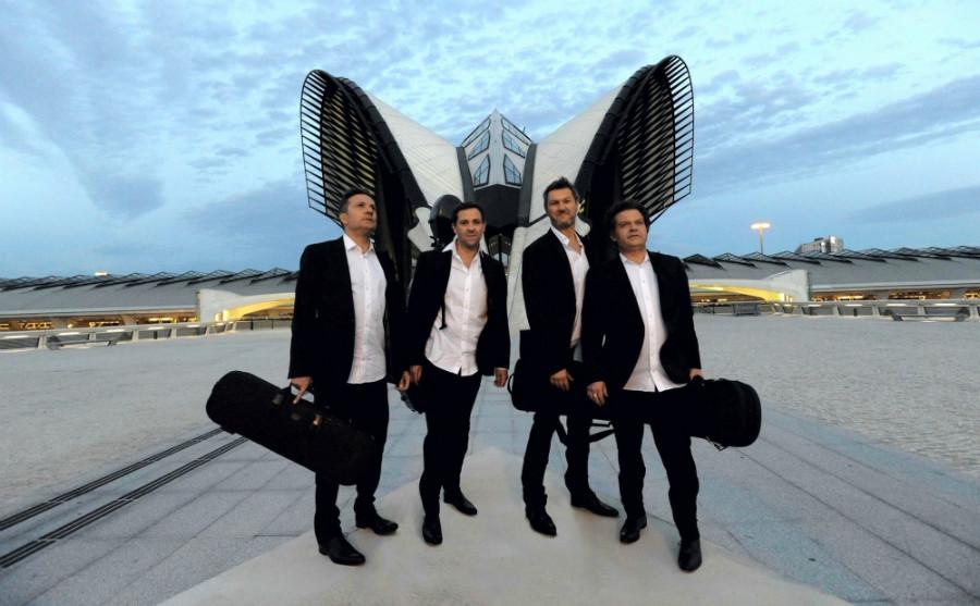 En 2010 commence la résidence d'artistes de trois ans du Quatuor Debussy