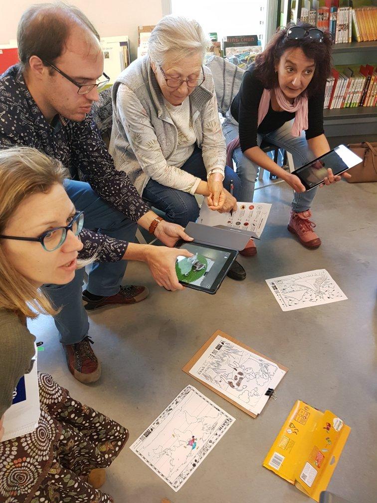 Tablettes et liseuse arrivent dans le réseau de lecture publique