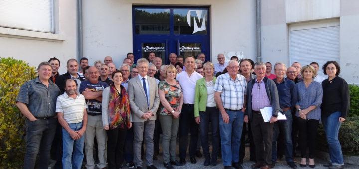 Membres du conseil communautaires de la communauté de communes de la matheysine