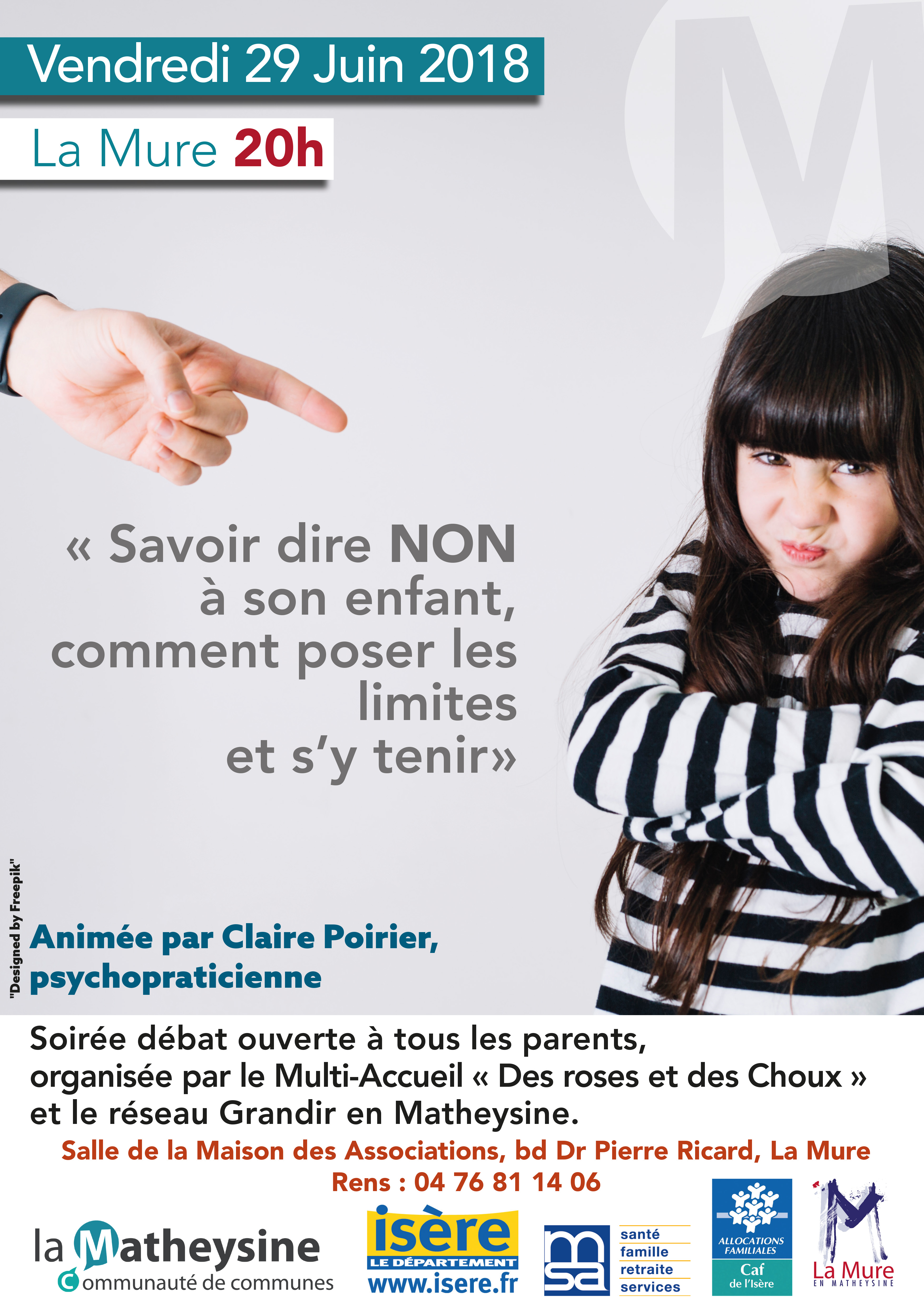 Soirée débat : Savoir dire non à son enfant